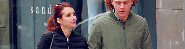 Emma & Evan Peters faisant du shopping dans New York
