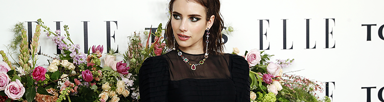 Emma Roberts pour Tous Jewelry